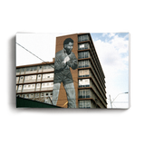 Canvas Print Boxing Madiba on Building | www.iiilovelocal.com