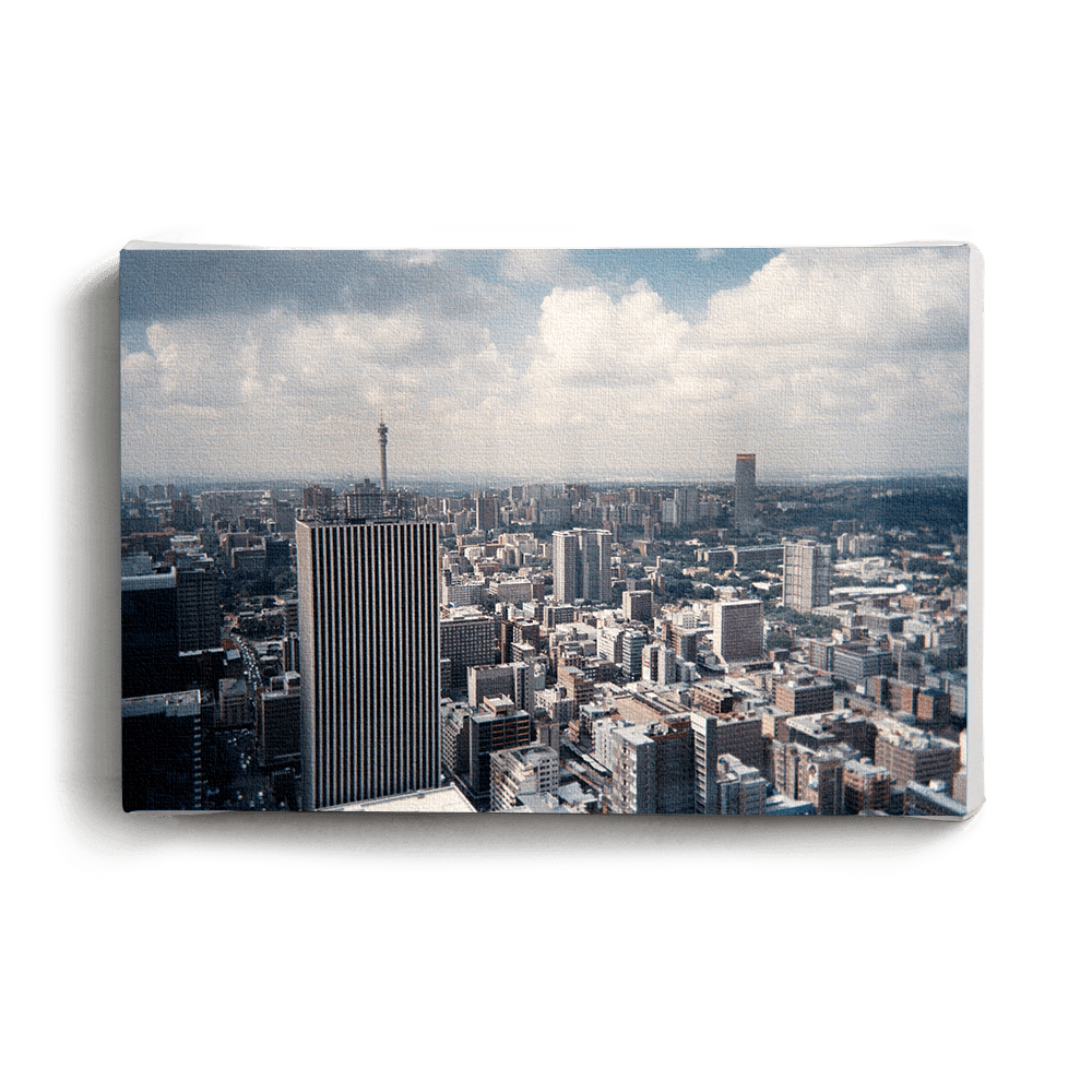 Canvas Print Johannesburg City View | www.iiilovelocal.com