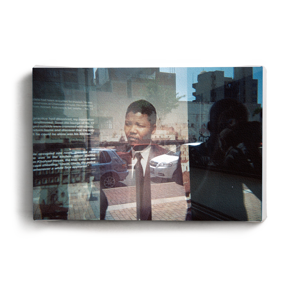 Canvas Print Madiba Reflection | www.iiilovelocal.com