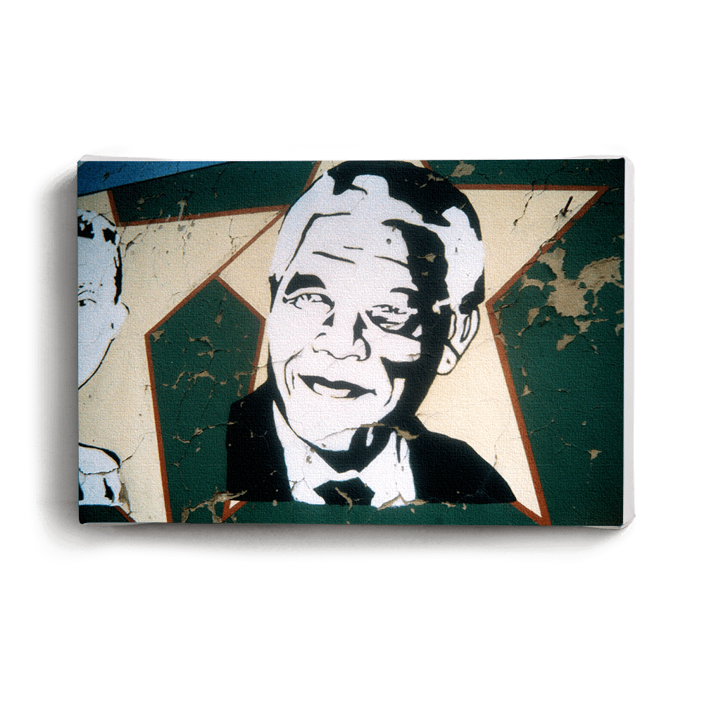 Canvas Print Madiba Star | www.iiilovelocal.com
