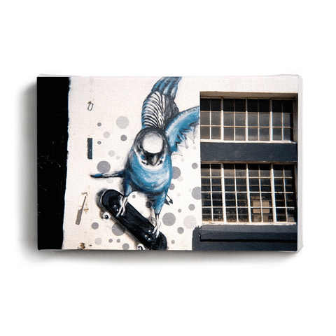 Canvas Print Arrow Graffiti