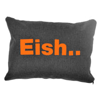 Cushion - Plastic Word EISH | www.iiilovelocal.com