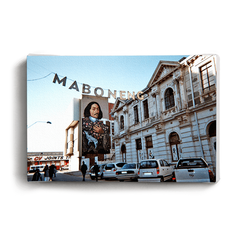 Canvas Print Madiba Reflection