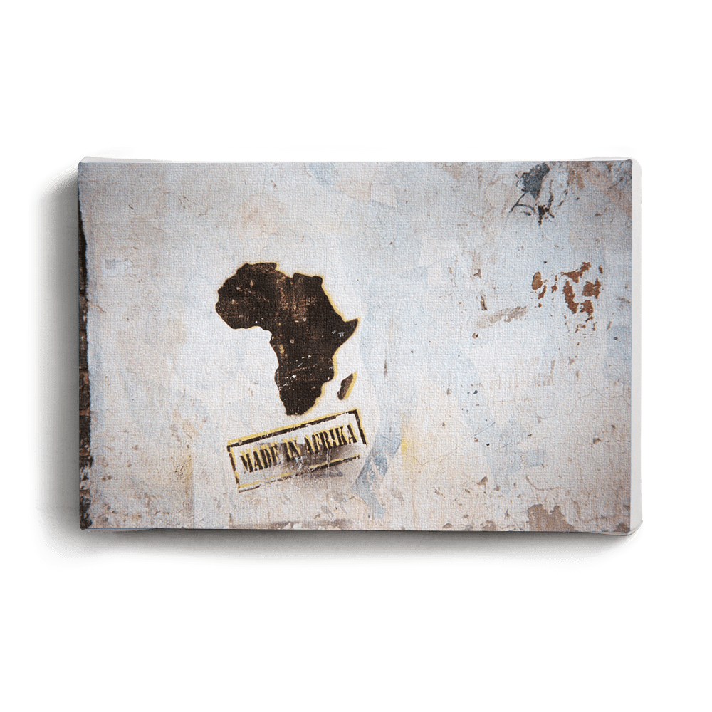Canvas Print Made In Africa | www.iiilovelocal.com