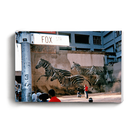 Canvas Print Red Lion