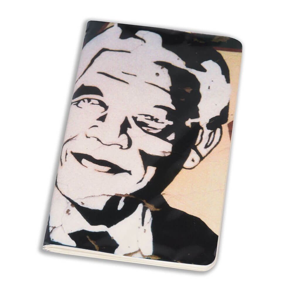 Notebook Floppy Cover Madiba Star | www.iiilovelocal.com