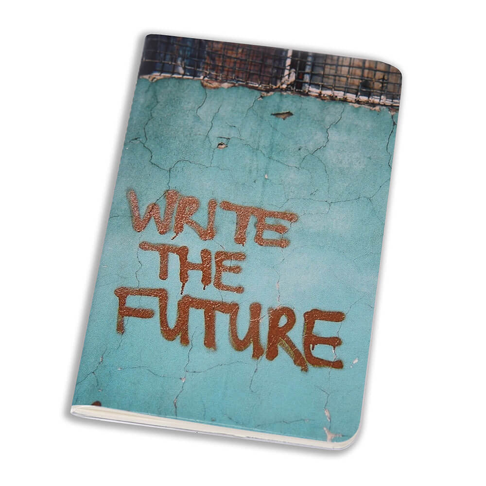 Notebook Floppy Cover Write The Future | www.iiilovelocal.com