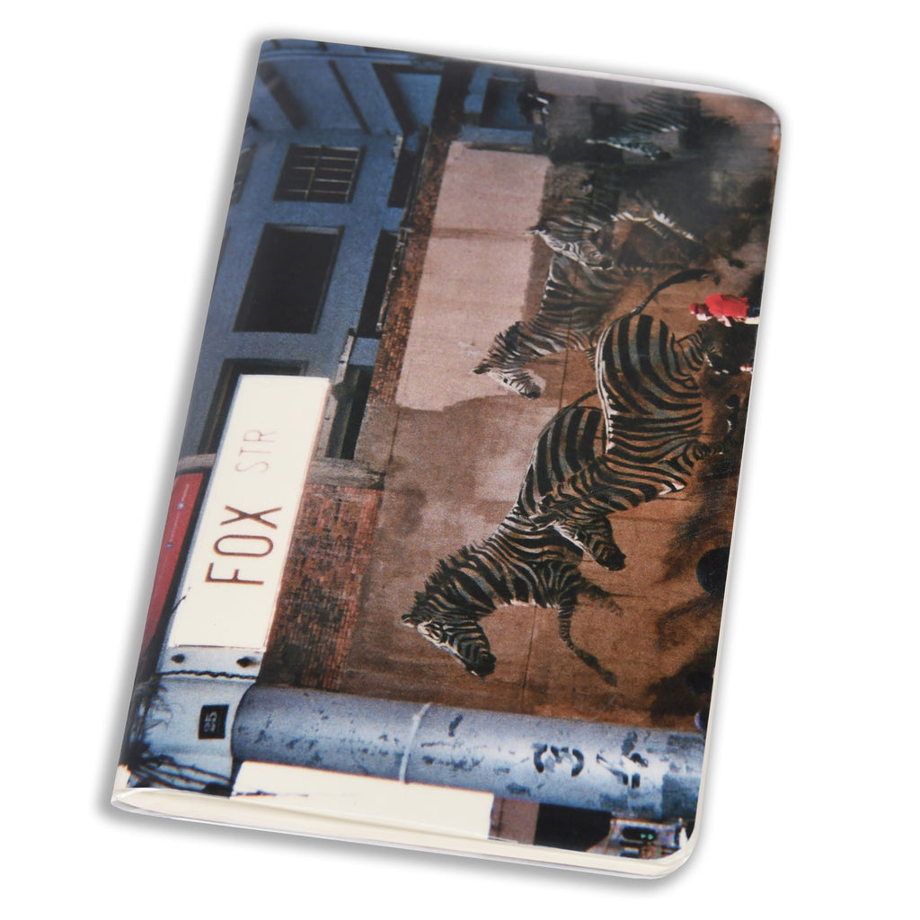 Notebook Floppy Cover Zebra | www.iiilovelocal.com