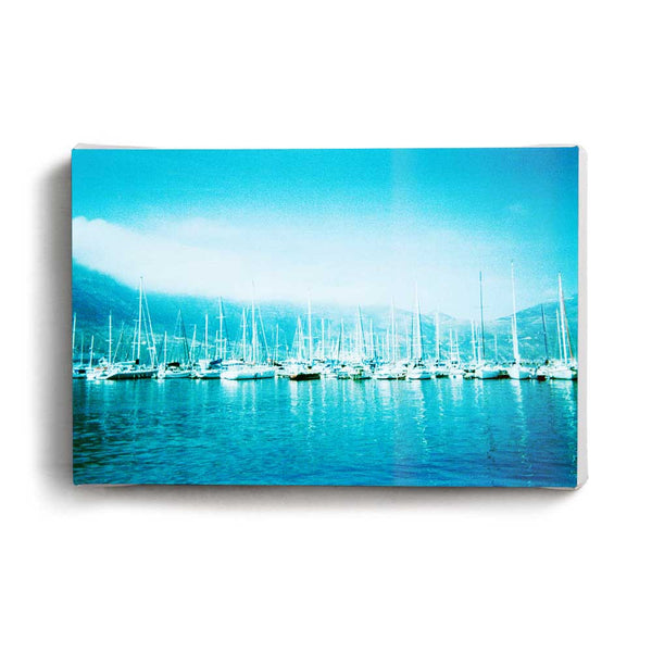 Canvas Print Blue Boats | www.iiilovelocal.com