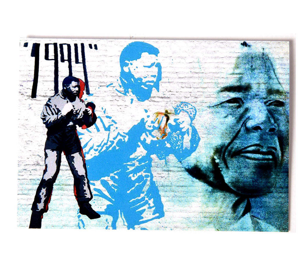 Greetings Card - Madiba | www.iiilovelocal.com