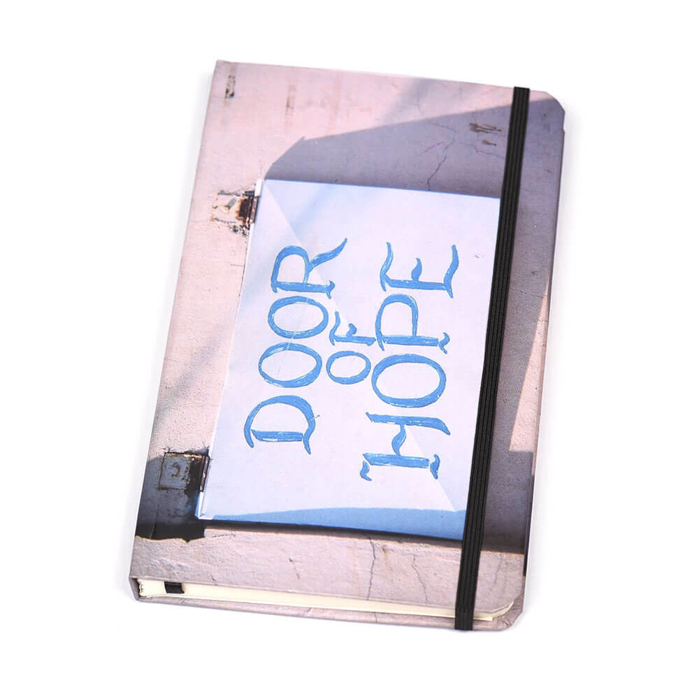 Notebook Hard Cover Door Of Hope | www.iiilovelocal.com