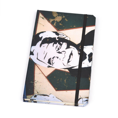 Notebook Floppy Cover Blue Lady