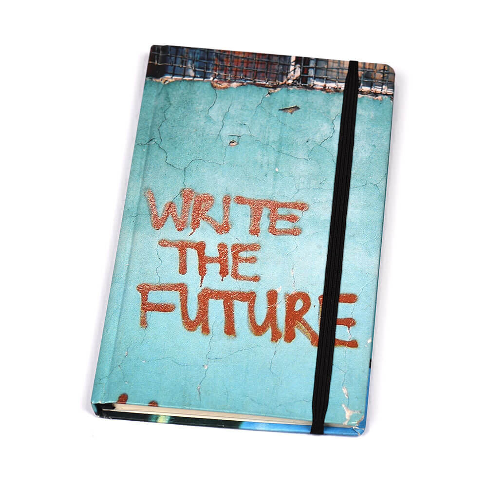 Notebook Hard Cover Write The Future | www.iiilovelocal.com