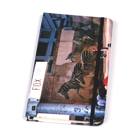 Notebook Brown Floppy Cover Zebra