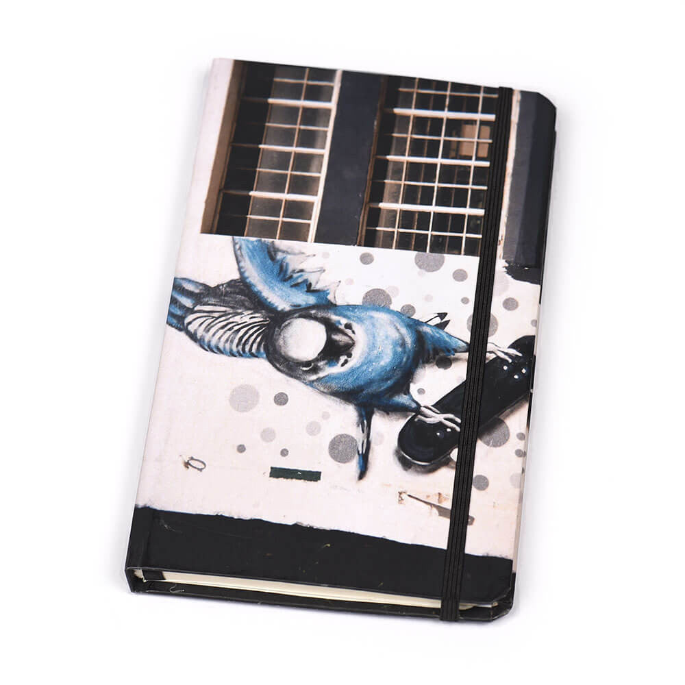 Notebook Hard Cover Budgie Skateboard | www.iiilovelocal.com