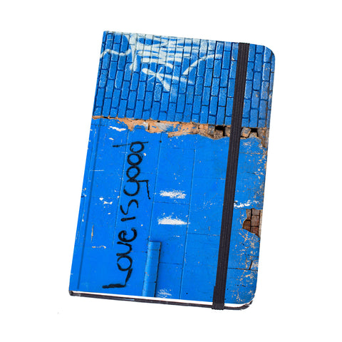 Notebook Hard Cover Budgie Skateboard