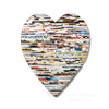 Recycled Rolled Paper HEART | www.iiilovelocal.com