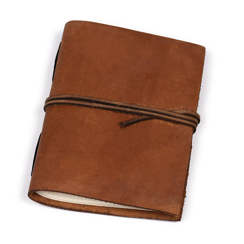 Notebook Brown Floppy Cover Walk