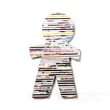 Recycled Rolled Paper Man | www.iiilovelocal.com