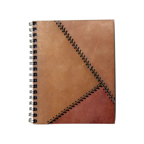 Notebook Brown Floppy Cover Shadow Hand