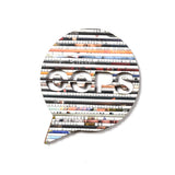 Recycled Rolled Paper Speech Bubble OOPS | www.iiilovelocal.com