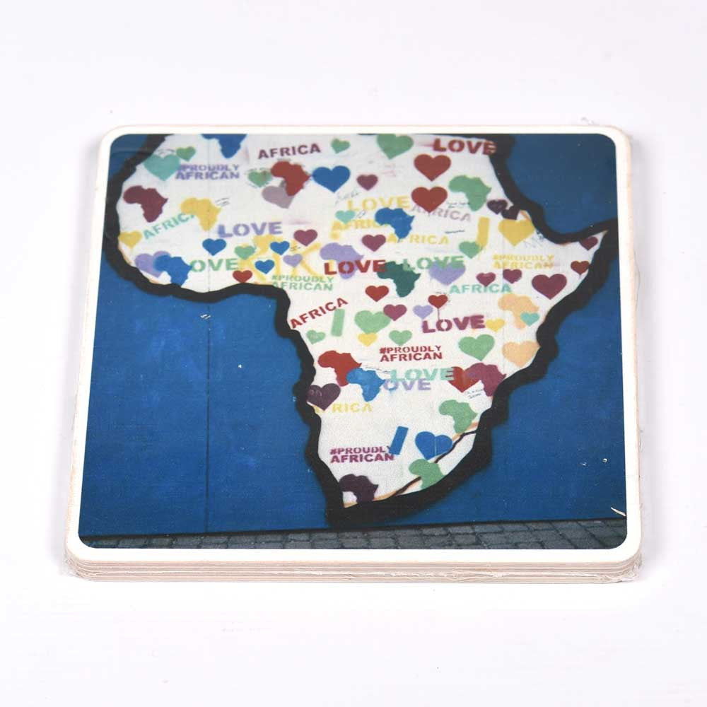 Wooden Photo Block Love Africa | www.iiilovelocal.com