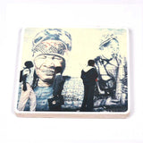 Wooden Photo Block Blue Lady | www.iiilovelocal.com