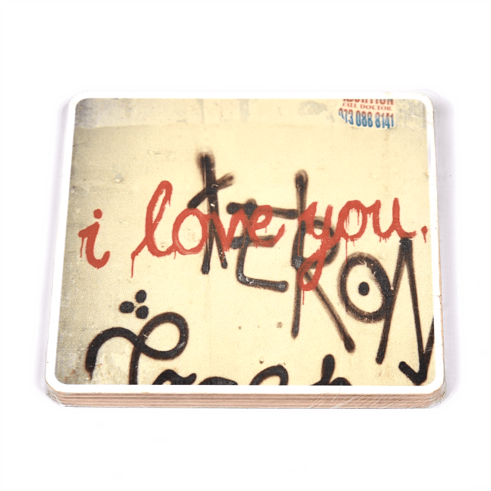 Wooden Photo Block I Love You | www.iiilovelocal.com