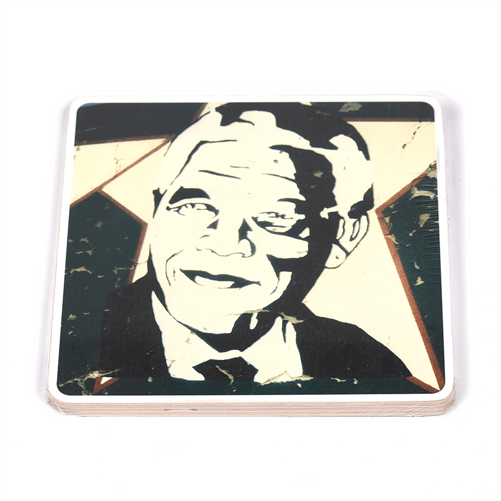 Wooden Photo Block Madiba Star | www.iiilovelocal.com