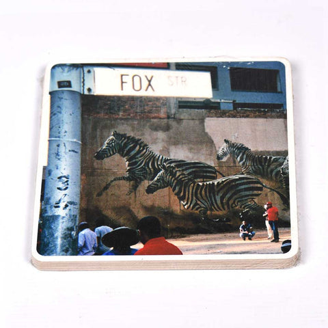Notebook Floppy Cover Zebra