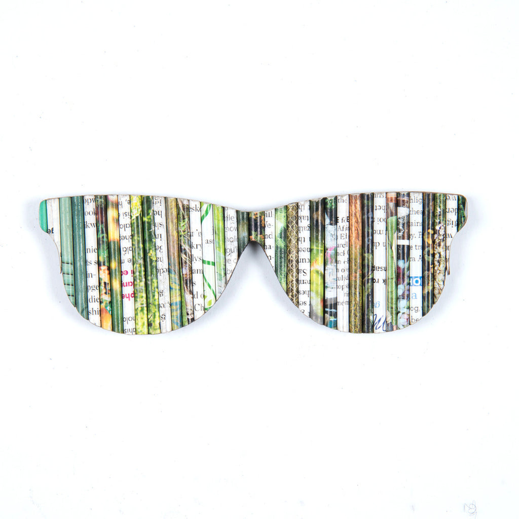 Recycled Rolled Paper SUNNIES | www.iiilovelocal.com