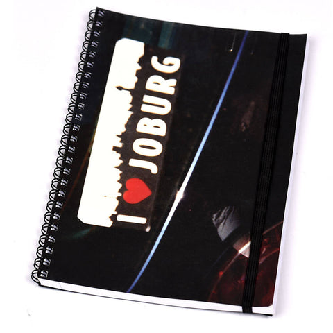 Notebook Ring Bound JOBURG