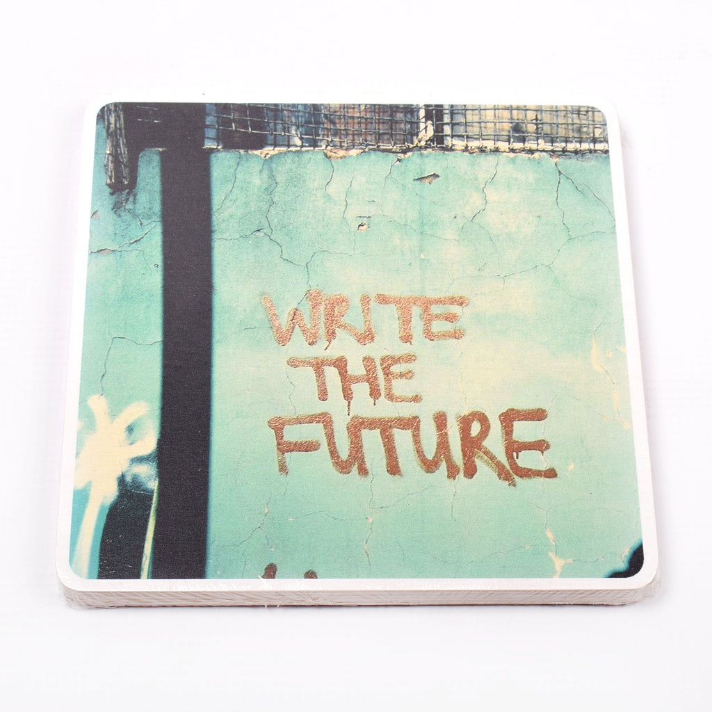 Wooden Photo Block Write The Future | www.iiilovelocal.com