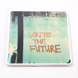 Wooden Photo Block Write The Future