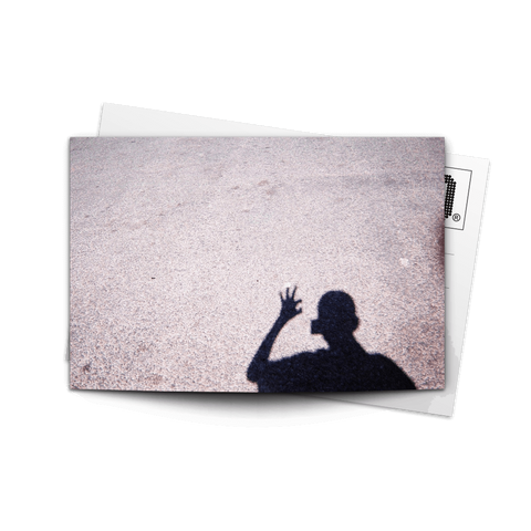 Canvas Print Shadow Hand
