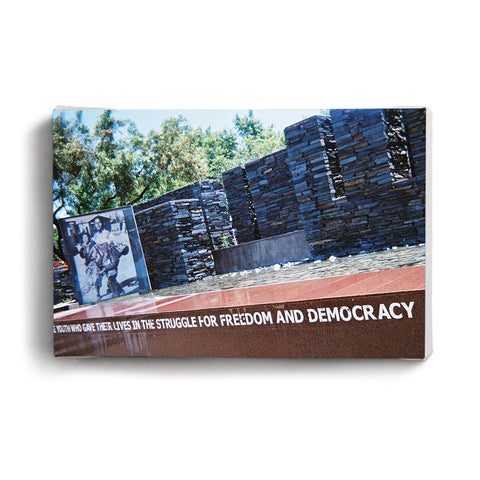Canvas Print Remember Marikana
