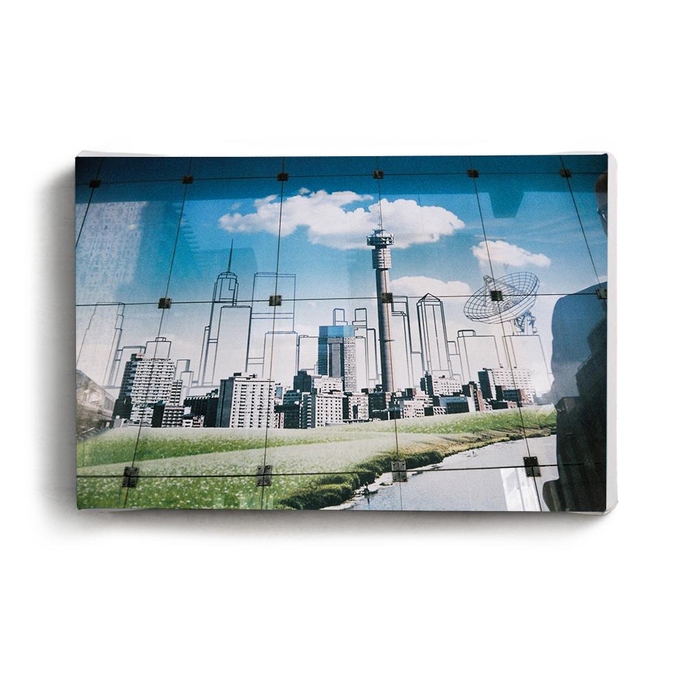 Canvas Print Constructed City | www.iiilovelocal.com