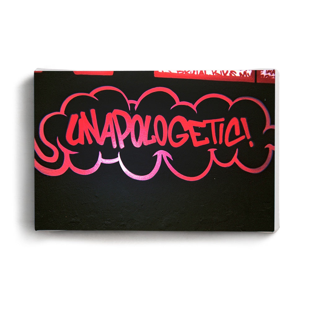 Canvas Print Unapologetic | www.iiilovelocal.com