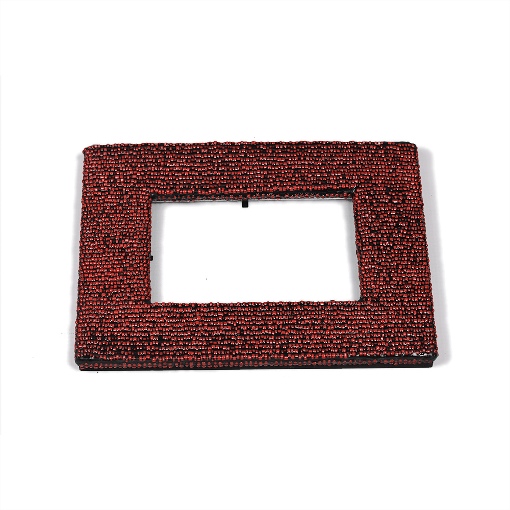 Beaded Photo Frame Large Photo Frame - iiilovelocal