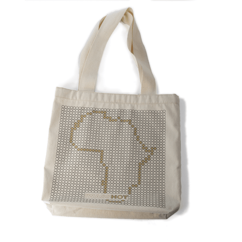 Shopping Bag Africa Black