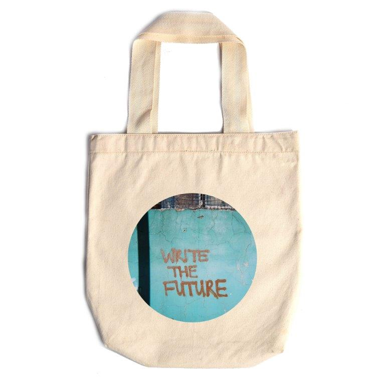 Shopping Bag Write The Future - iiilovelocal.com