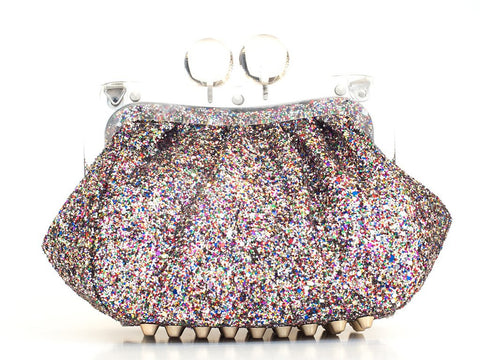 AMY Clutch Glitter Multi