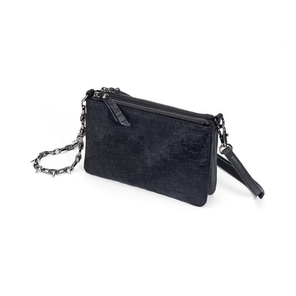 mata hari x Joomi Lim Collaboration CASEY Black 3-way clutch