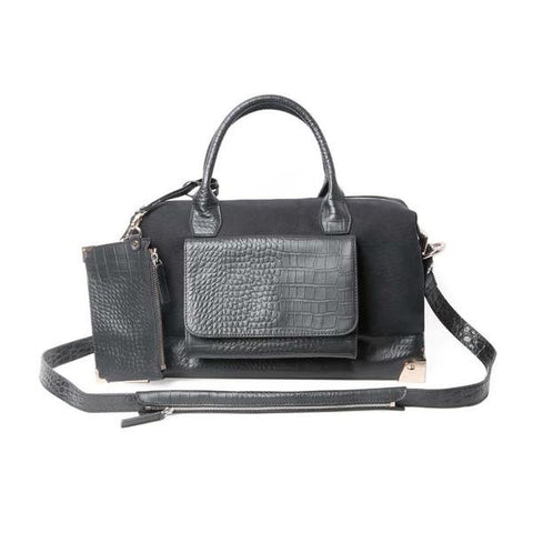 CINDIDDY Traveler Carryall Bag Black