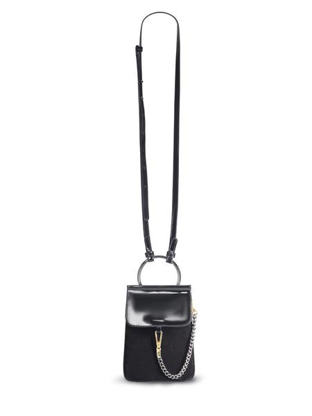 JUDY C. for mata hari: Judy2 Phone Cross-body Purse Black