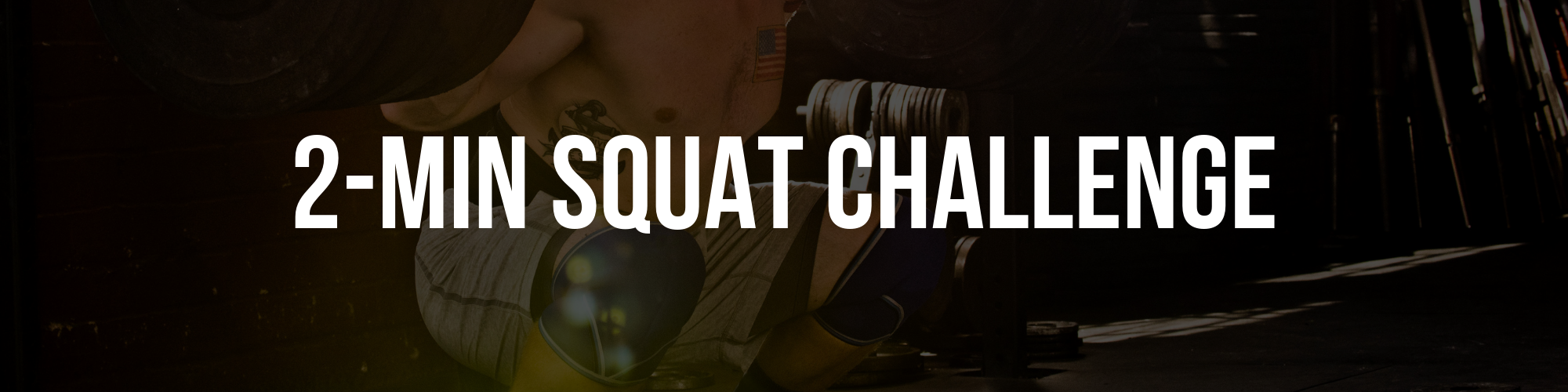 5th Nov - 2 Minute Squat Challenge