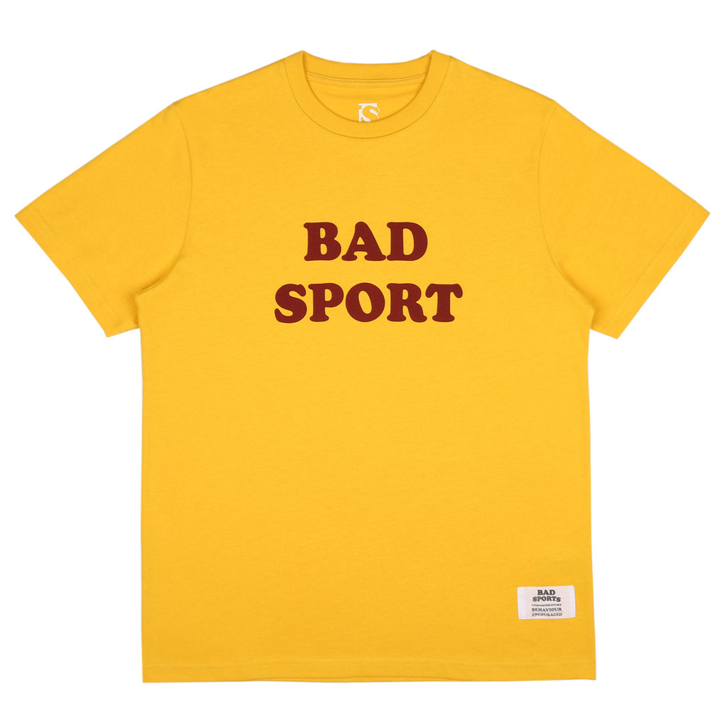 BAD SPORTS™ Bad Sport T-Shirt OLD GOLD