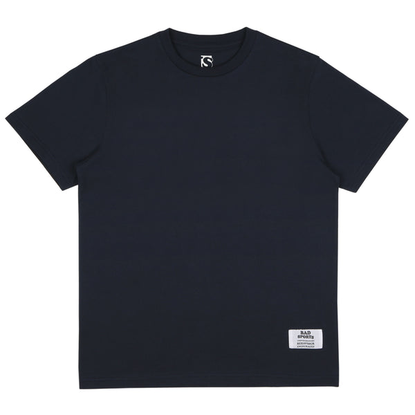 BAD SPORTS™ Classic 'No Sports' T-Shirt Navy