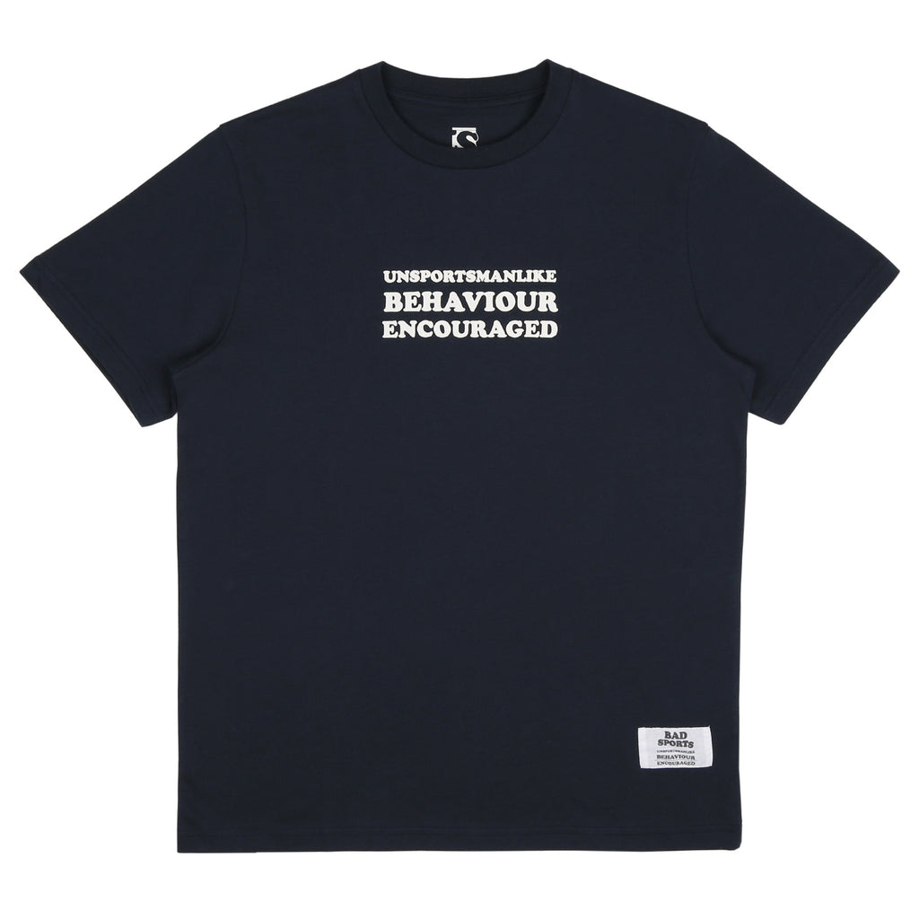 BAD SPORTS™ 'UBE' T-Shirt Navy