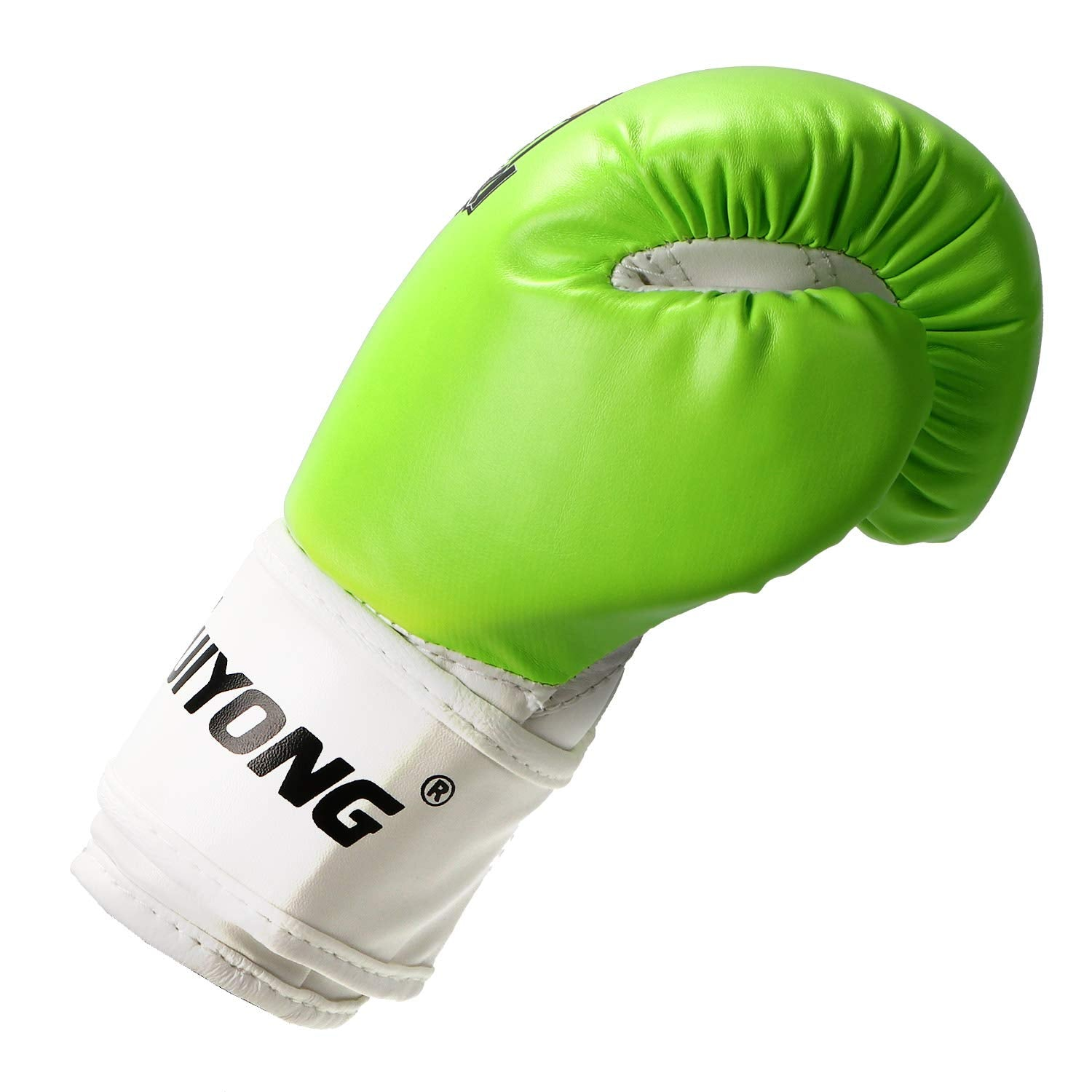 Kids Lime Green Boxing Gloves 4OZ - Q&ADoorChimes